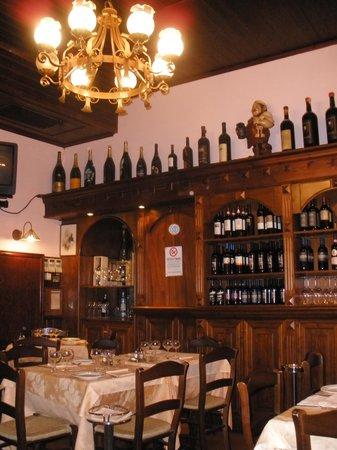 Le Grazie: Interior of the restaurant