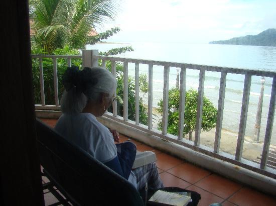 Baguala Bay Resort: Nice Veranda