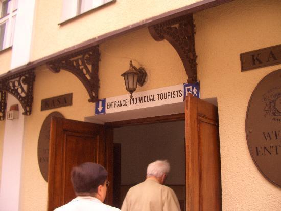 เหมืองเกลือวีลิคซา: individual visitors entrance
