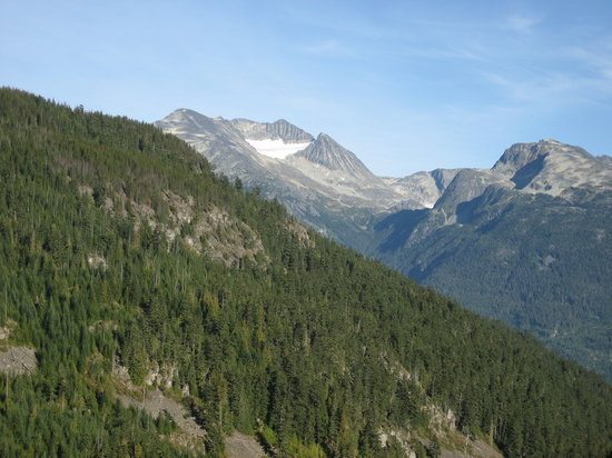 Whistler, Kanada: Incredible views