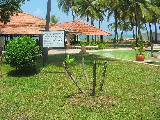 Aquarius Sports Resort: Beach Restaurant