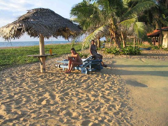 Aquarius Sports Resort: Beach