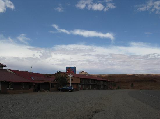 The Hat Rock Inn in Mexican Hat, UT