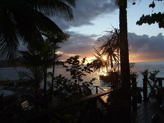Samoa: Le Lagoto Resort Sunset