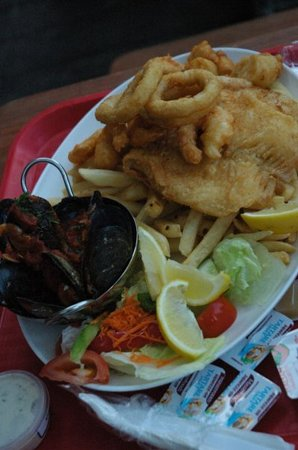 Kailis Fish Market Cafe: Seafood platter at Kaili's