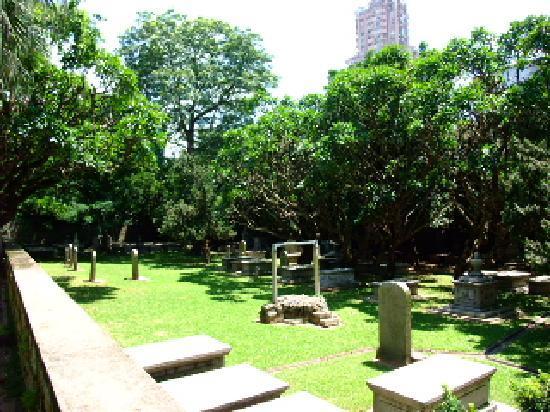 Old Protestant Cemetery: 新教徒墓地3