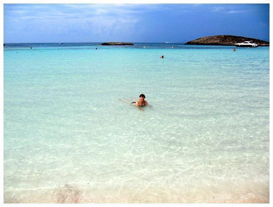 Hotel Riu La Mola: Spiaggia del Pirata