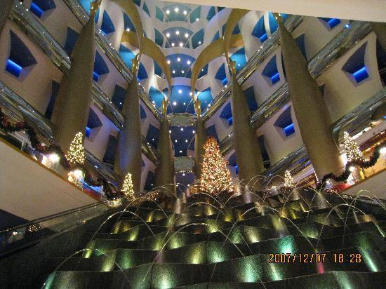 Burj Al Arab Jumeirah : ロビー