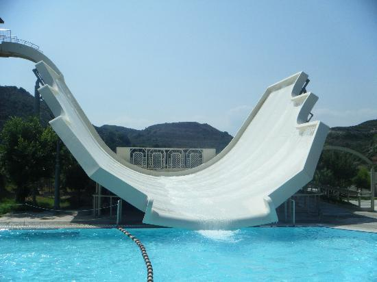 Water Park: The Sting Ray slide - very scary