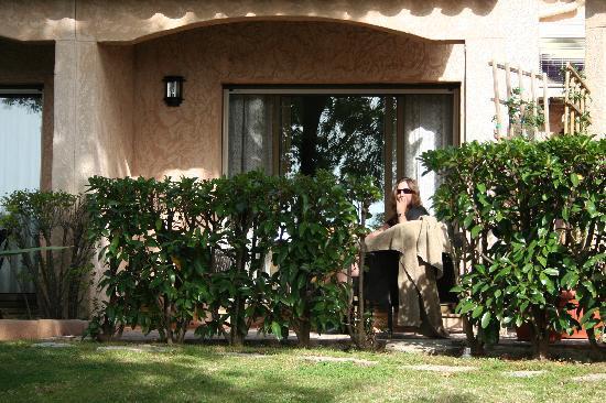 วองซ์, ฝรั่งเศส: Our room and terrace
