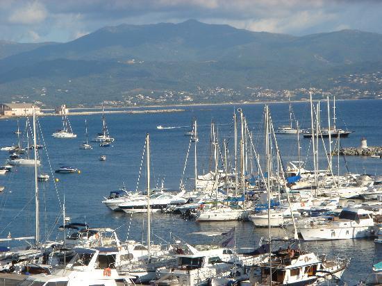 Mercure Ajaccio: View from hotel room