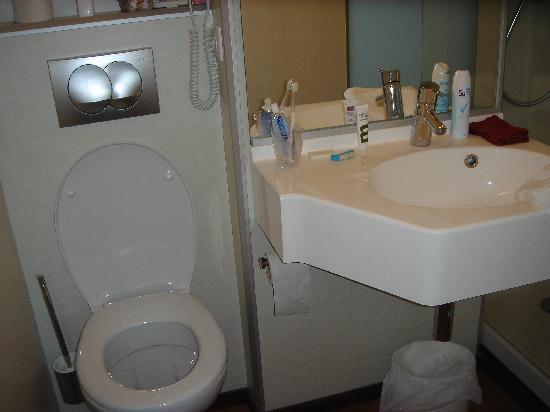 Mercure Ajaccio : The bathroom