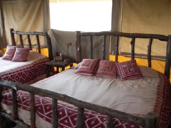 Porini Mara Camp: inside