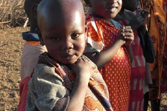 Porini Mara Camp: cute masai kid