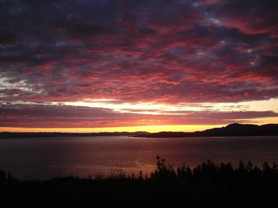 Sør-Trøndelag, Norge: Sunset in Vikhammer