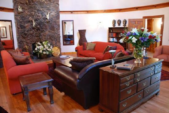 Idwala Boutique Hotel Johannesburg: Lounge