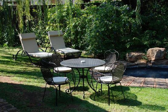 Idwala Boutique Hotel Johannesburg: Garden