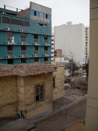 Hotel Esperanza: Desde la ventana