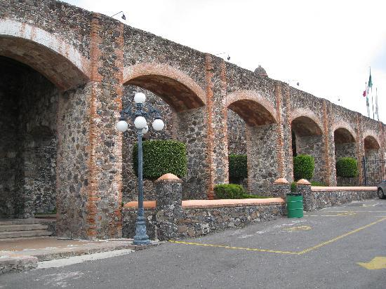 Juriquilla, Mexiko: Part of the hotel's entrance
