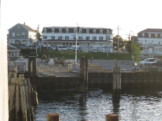 The Harborside Inn: This is actually taken from the Ferry -- its that close.