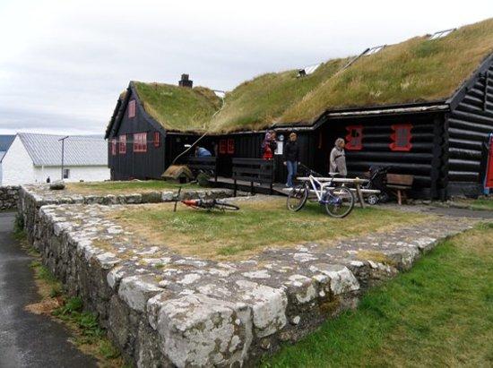 Færøyene: Kirkjubour, Streymoy, Faroe Islands