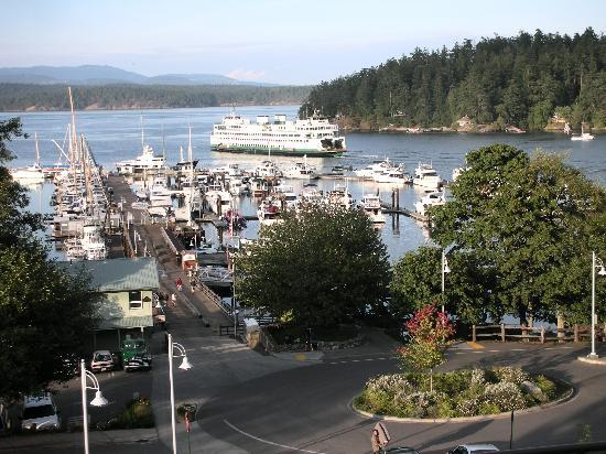Cannery House Restaurant: View from the deck of Cannery House
