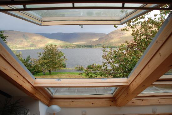 Huntingtower Lodge: View from the Ardgour Room