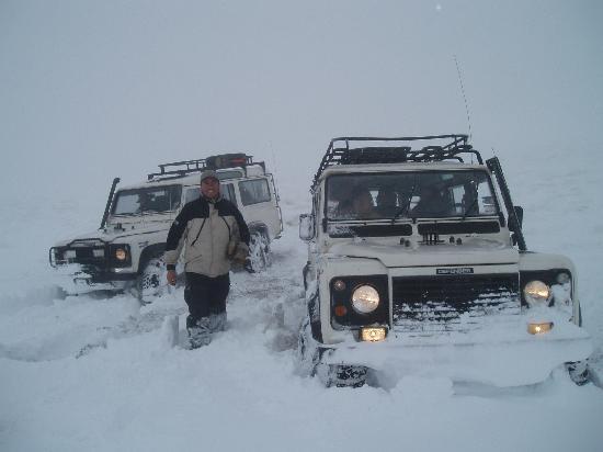 Poquito de Nieve en Cerro Frias