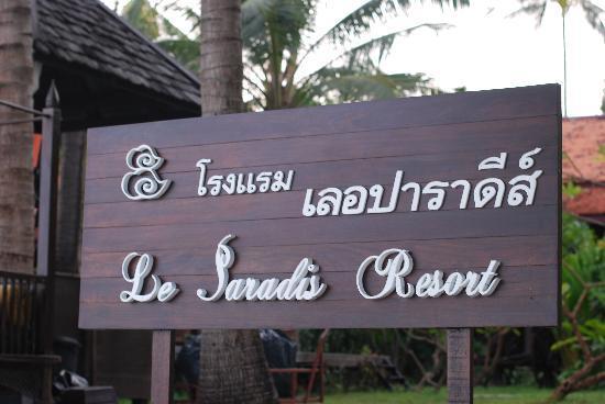 Le Paradis Boutique Resort & Spa: hotel