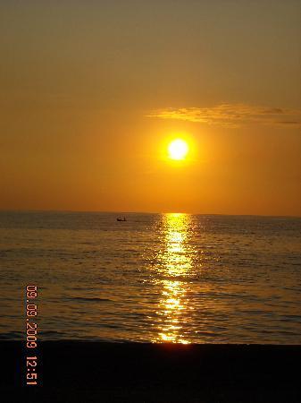 Longobardi, إيطاليا: sunset at longobardi marina