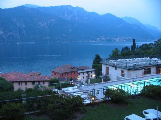Hotel Belvedere Bellagio: View from restaurant balcony
