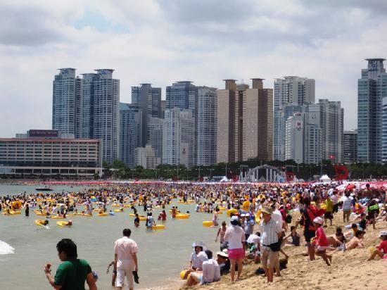 Busan, Südkorea: Haeundae (Hyundae) Beach