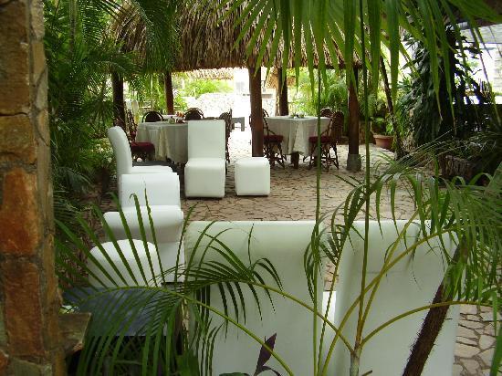 Hotel Castillo El Milagro: terrazas