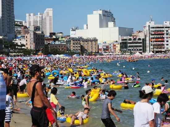 Busan, Südkorea: Songdo Beach