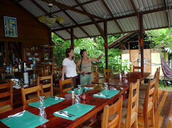 Pirate Cove : Le restaurant