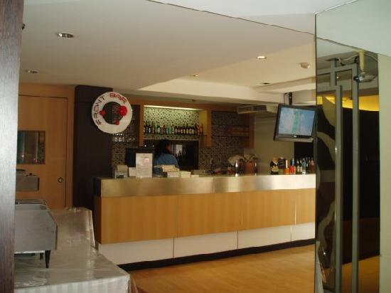 Grand Watergate Hotel: Restaurant where the serve breakfast