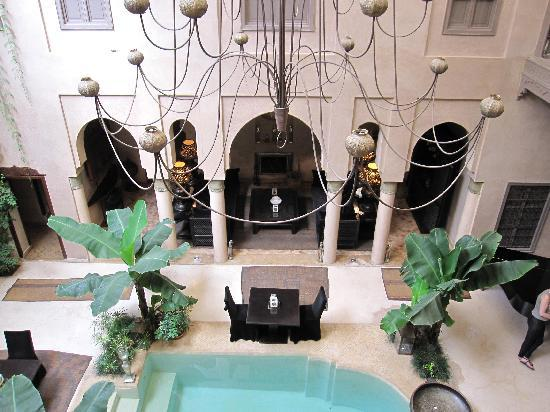 Riad Noir d'Ivoire: Inner Courtyard