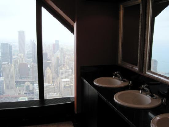View From Womens Bathroom Picture Of Signature Lounge Chicago Tripadvisor