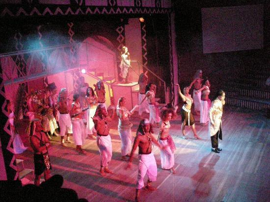 Club Med Agadir : un des spectacles