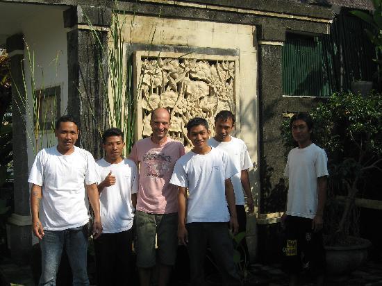 Balam Bali Villa: l'équipe