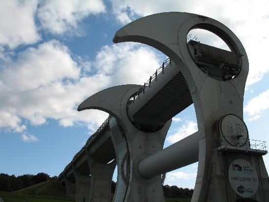 Ashbank Guest House: Falkirk Wheel