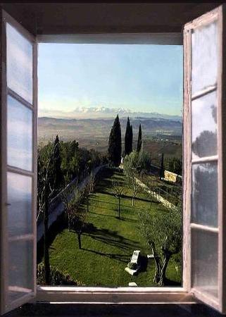 Recanati, Italie : Vista dal Colle dell'Infinito