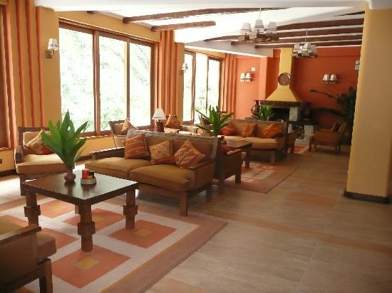 SUMAQ Machu Picchu Hotel: The lobby