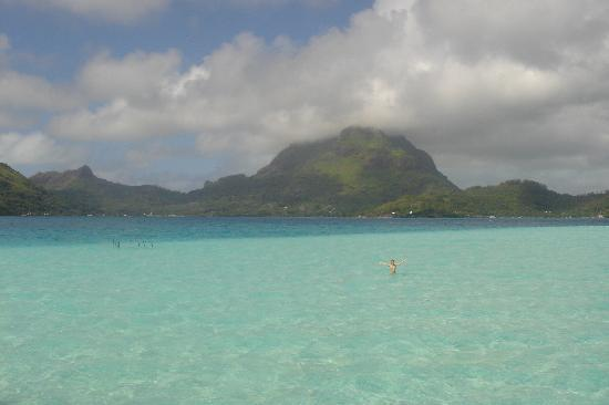 Bora Bora Pearl Beach Resort & Spa: view from the villa