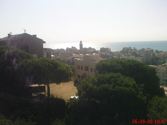 H·TOP Calella Palace & SPA: View from rooftop