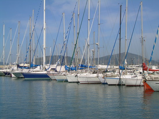 Alghero, Italie : porto