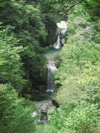 Ojiragawa Canyon : 神蛇滝。ほんとうに美しい。。