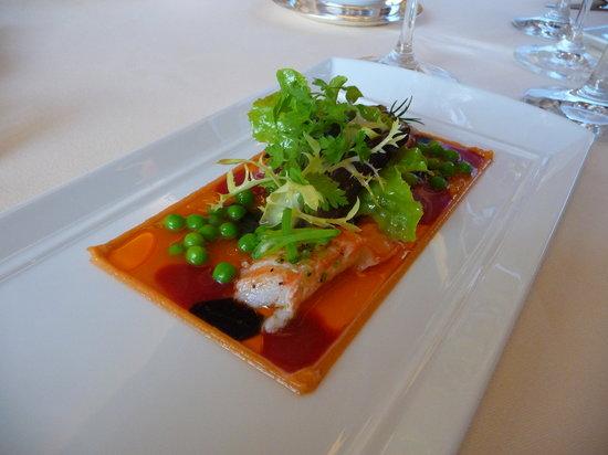 Restaurant de l'Hotel de Ville Crissier: Gaspacho de homard bleu