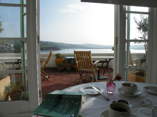 Burgh Island Hotel : A View from the Breakfast Table