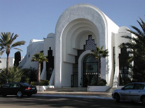 Radisson Blu Palace Resort & Thalasso, Djerba: L'entrée de l'hotel